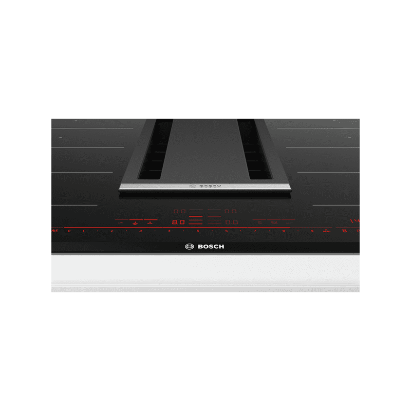 Bosch H198xW816xD527 FlexInduction 4 Zone Venting Hob - Black additional image 1