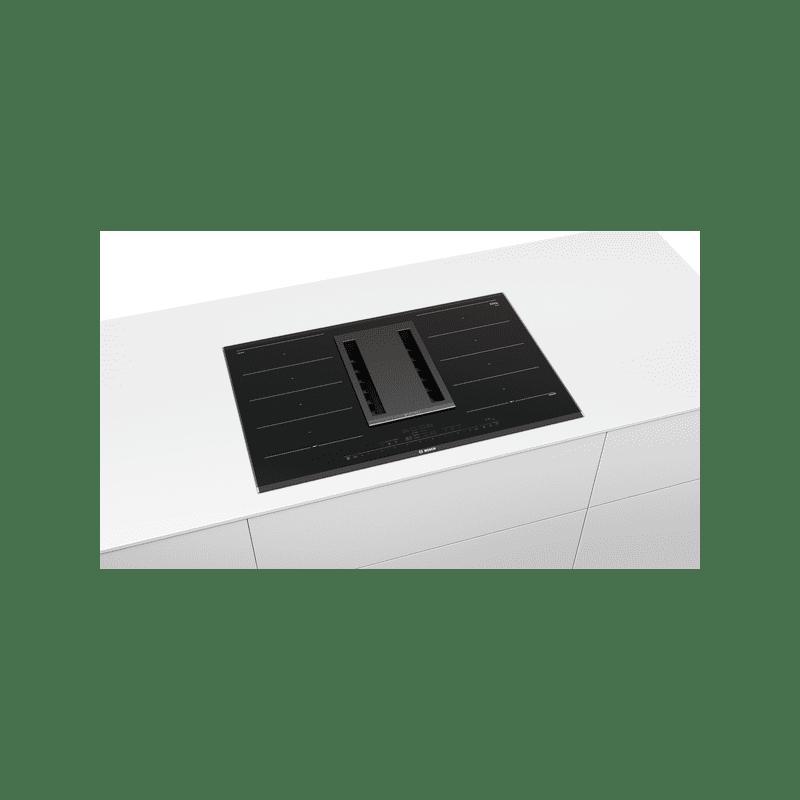 Bosch H198xW816xD527 FlexInduction 4 Zone Venting Hob - Black additional image 2