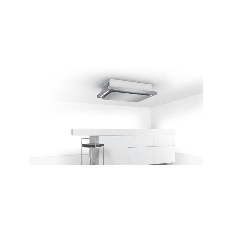 Bosch H243xW1000xD700 Ceiling Hood - Brushed Steel additional image 4
