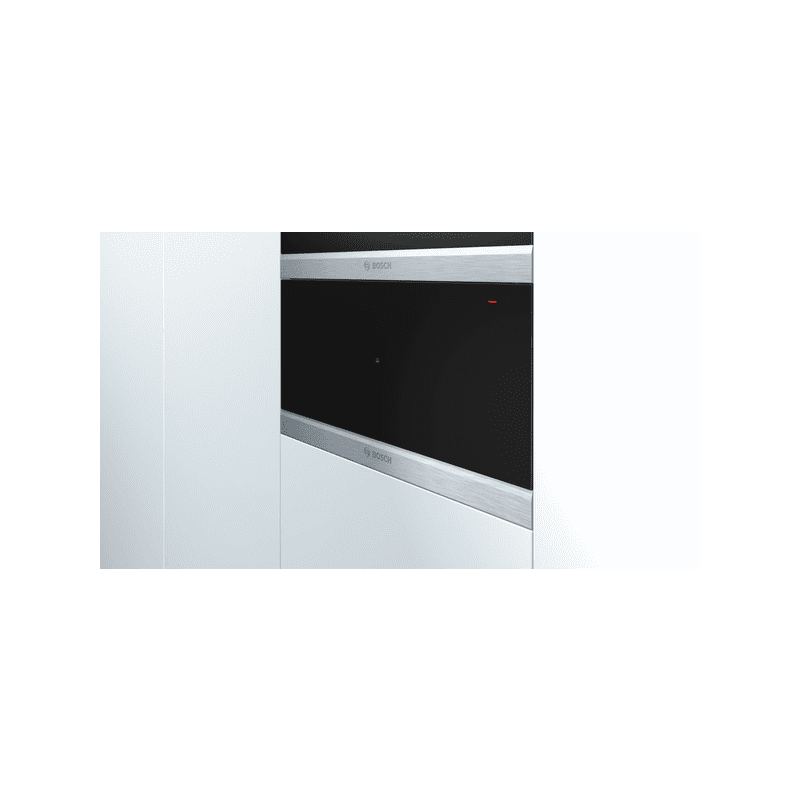 Bosch H290xW595xD548 Warming Drawer - Brushed Steel additional image 3