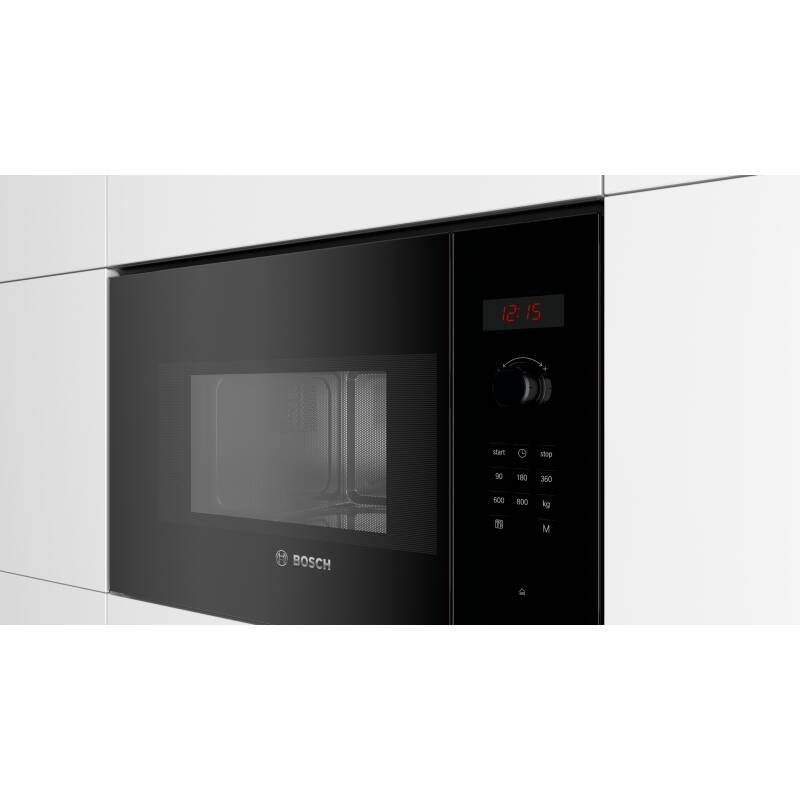 Bosch H382xW594xD317 Wall Microwave - Black additional image 2