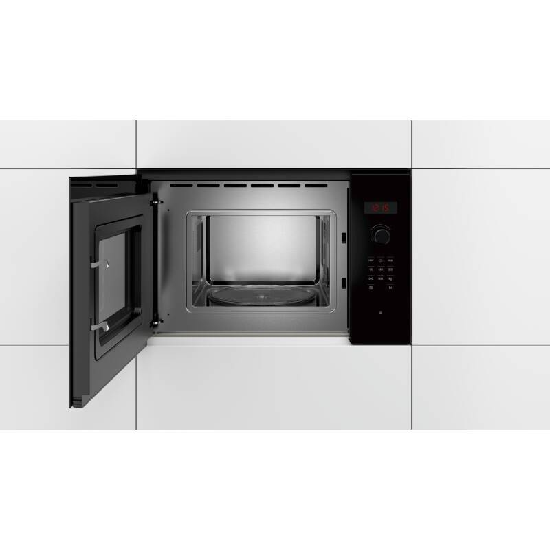 Bosch H382xW594xD317 Wall Microwave - Black additional image 3
