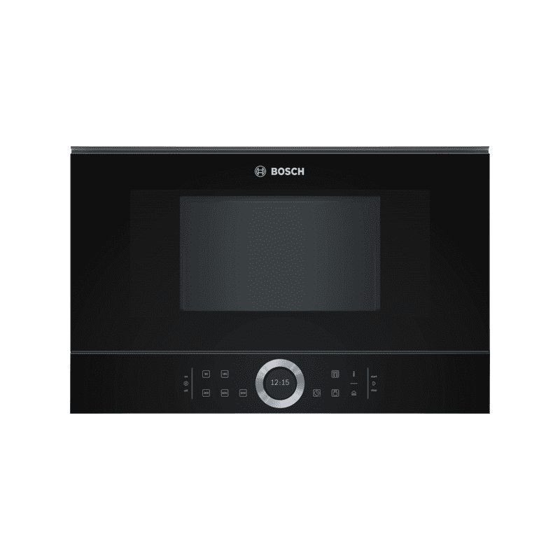 Bosch H382xW594xD318 Built-In Microwave - Black primary image