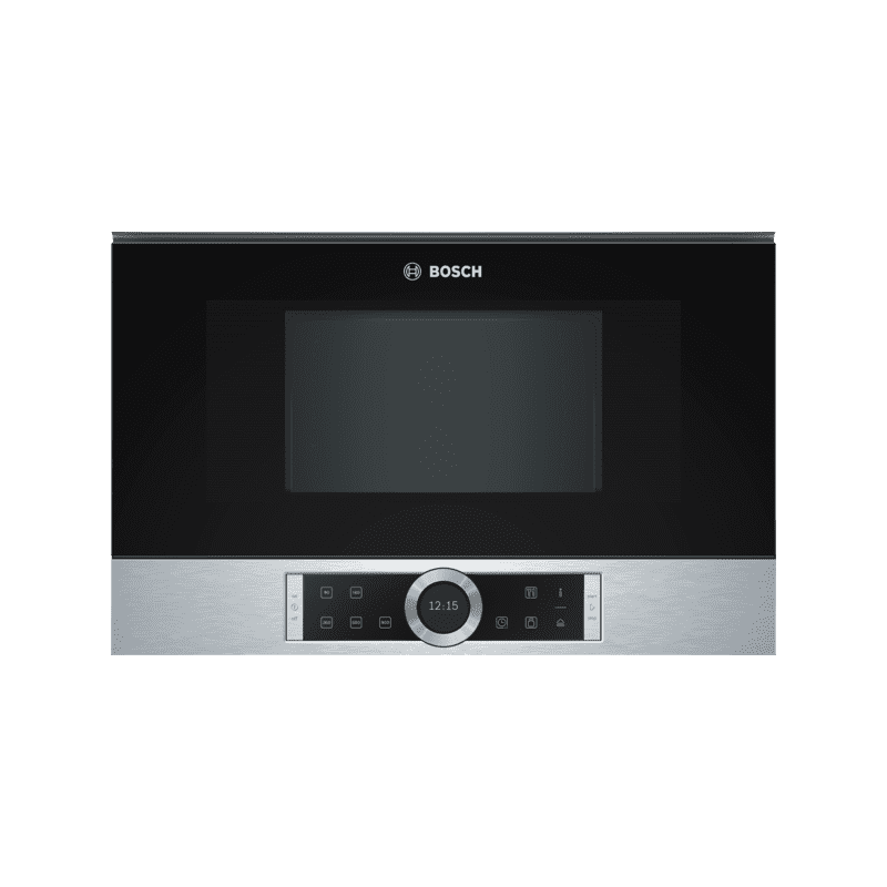 Bosch H382xW594xD318 Built-In Microwave - Brushed Steel primary image