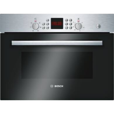 Bosch H454xW594xD570 Combination Microwave Oven - Stainless Steel