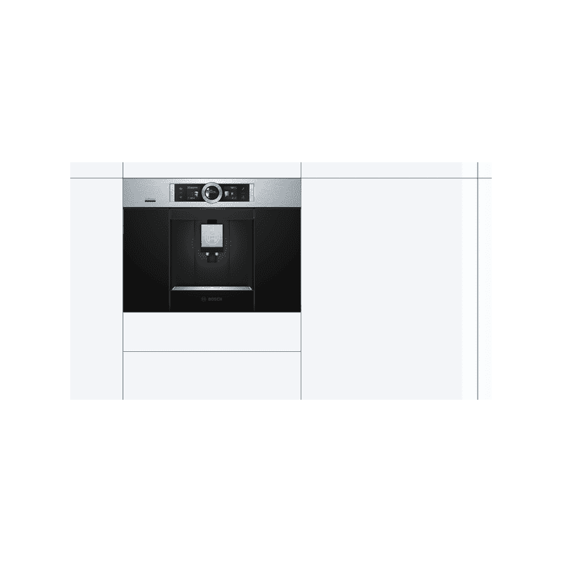 Bosch H455xW594xD375 - Coffee Machine - Stainless Steel additional image 3