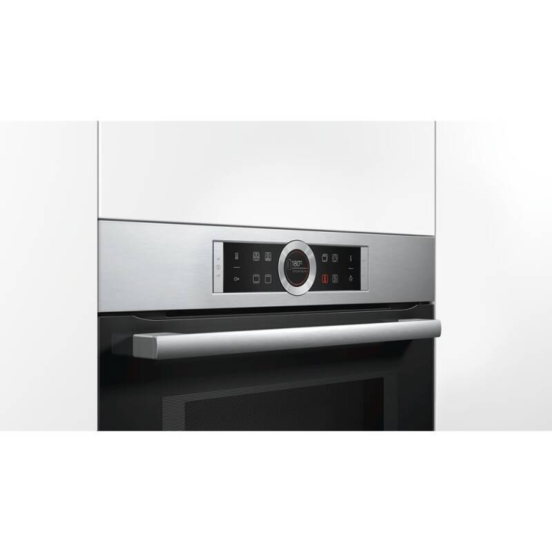 Bosch H455xW595xD545 Microwave - Brushed Steel additional image 1