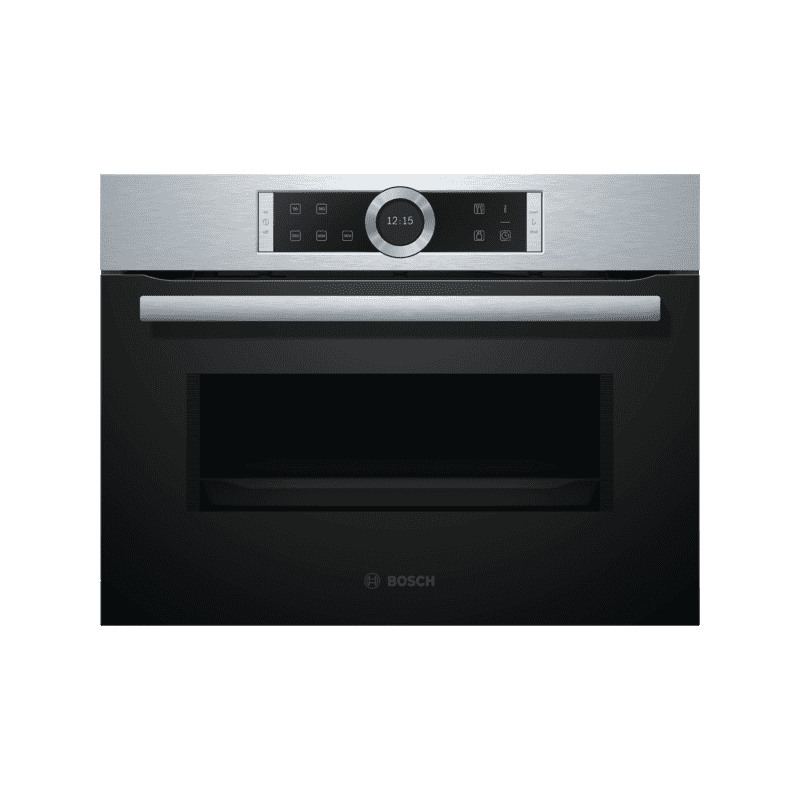Bosch H455xW595xD545 Microwave - Brushed Steel primary image