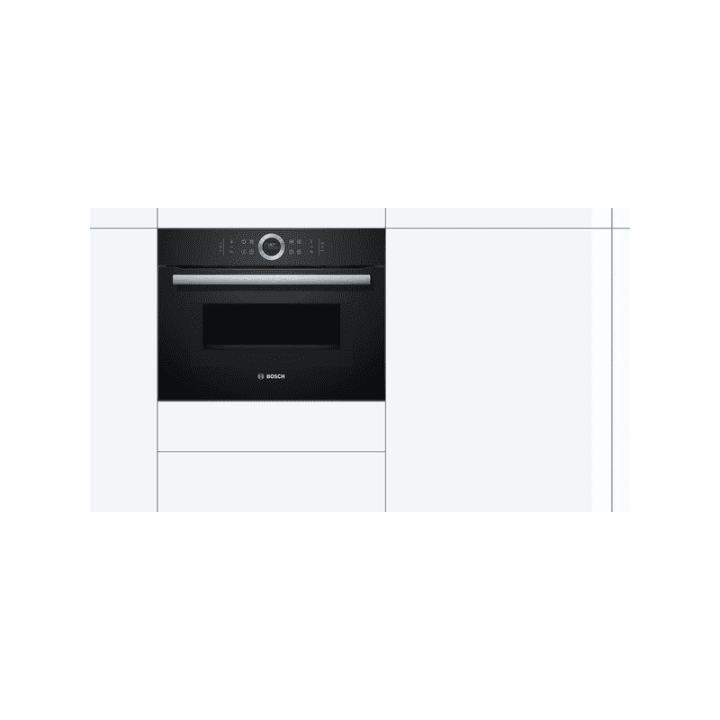 Bosch H455xW595xD548 Compact Oven with Microwave additional image 2