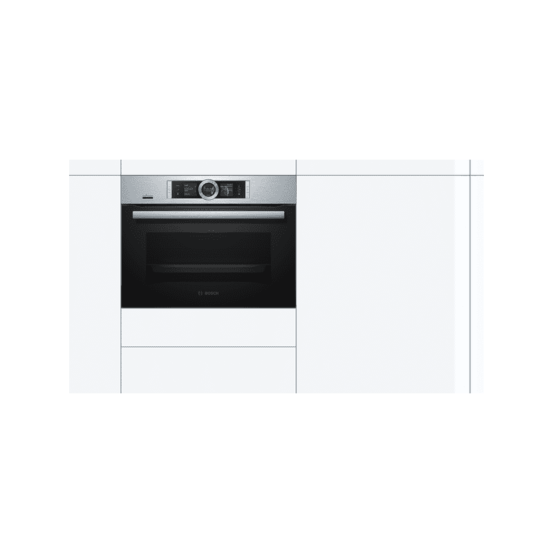 Bosch H455xW595xD548 Compact Steam Oven additional image 1