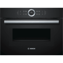 Bosch H455xW595xD548 Serie 8 Compact Oven with Microwave