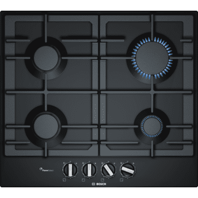 Bosch H45xW582xD520 Gas 4 Burner Hob With Flameselect