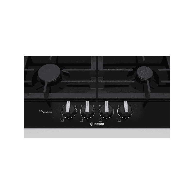 Bosch H45xW582xD520 Gas 4 Burner Hob With Flameselect-Black additional image 2