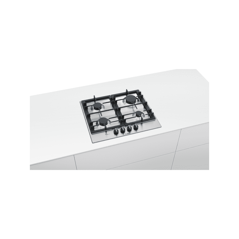 Bosch H45xW582xD520 Gas 4 Burner Hob With Flameselect-S/Steel additional image 3
