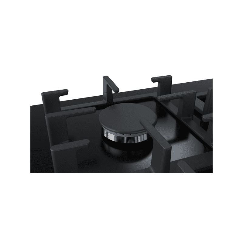 Bosch H45xW590xD520 Gas 4 Burner Hob With Flameselect- Black additional image 4