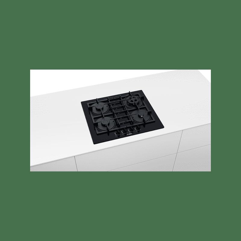 Bosch H45xW590xD520 Gas on Glass 4 Burner Hob additional image 2