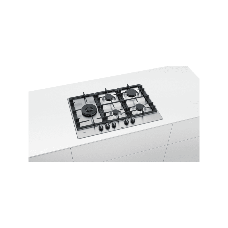 Bosch H45xW750xD520 Gas 5 Burner Hob With Flameselect additional image 2