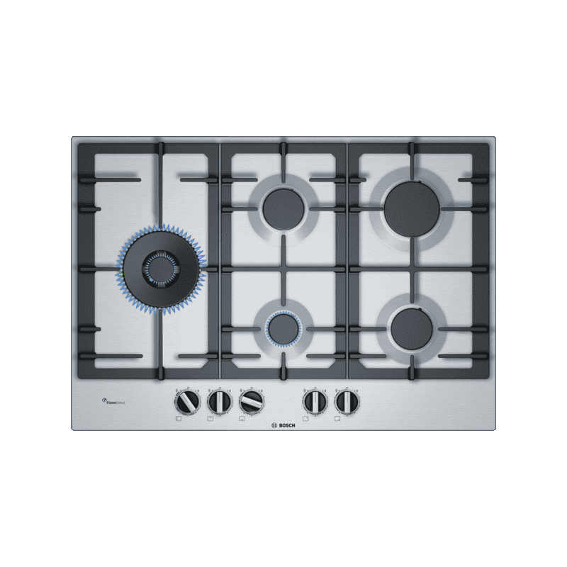 Bosch H45xW750xD520 Gas 5 Burner Hob With Flameselect primary image
