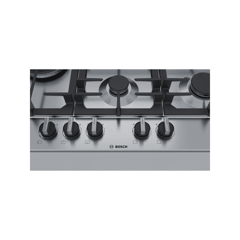 Bosch H45xW750xD520 Gas 5 Burner Hob With Flameselect-S/Steel additional image 3
