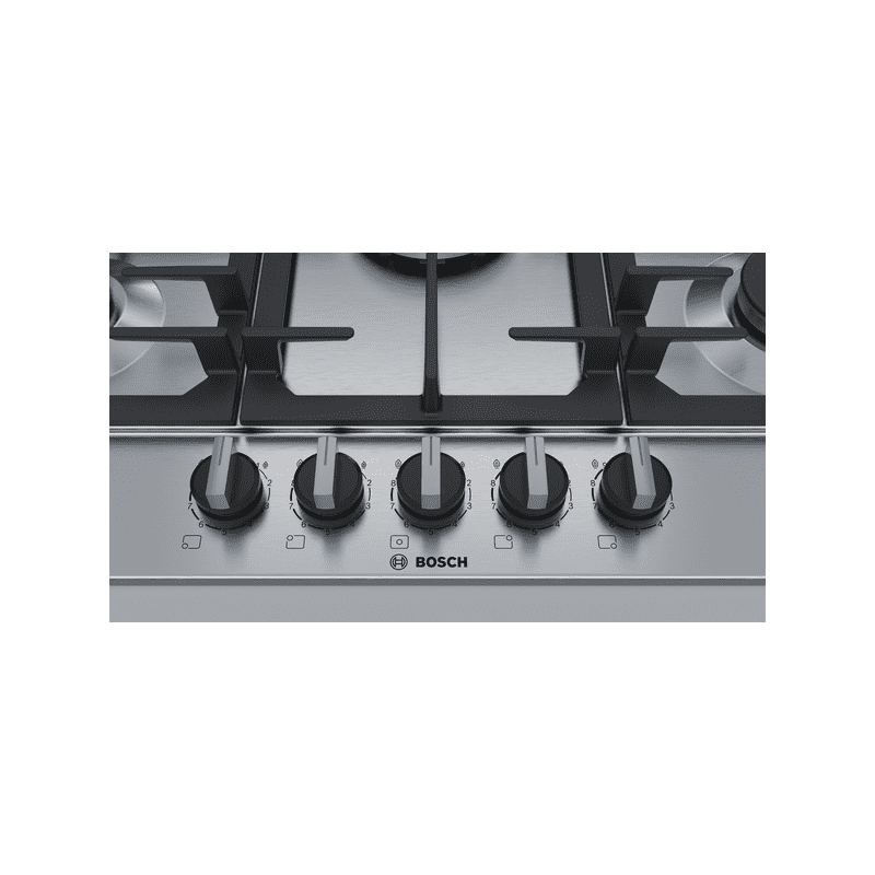 Bosch H45xW750xD520 Gas 5 Burner Hob With Flameselect-S/Steel additional image 4