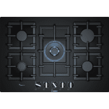 Bosch H45xW752xD520 Gas 5 Burner Hob With Flameselect- Black