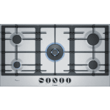 Bosch H45xW915xD520 Gas 5 Burner Hob With Flameselect