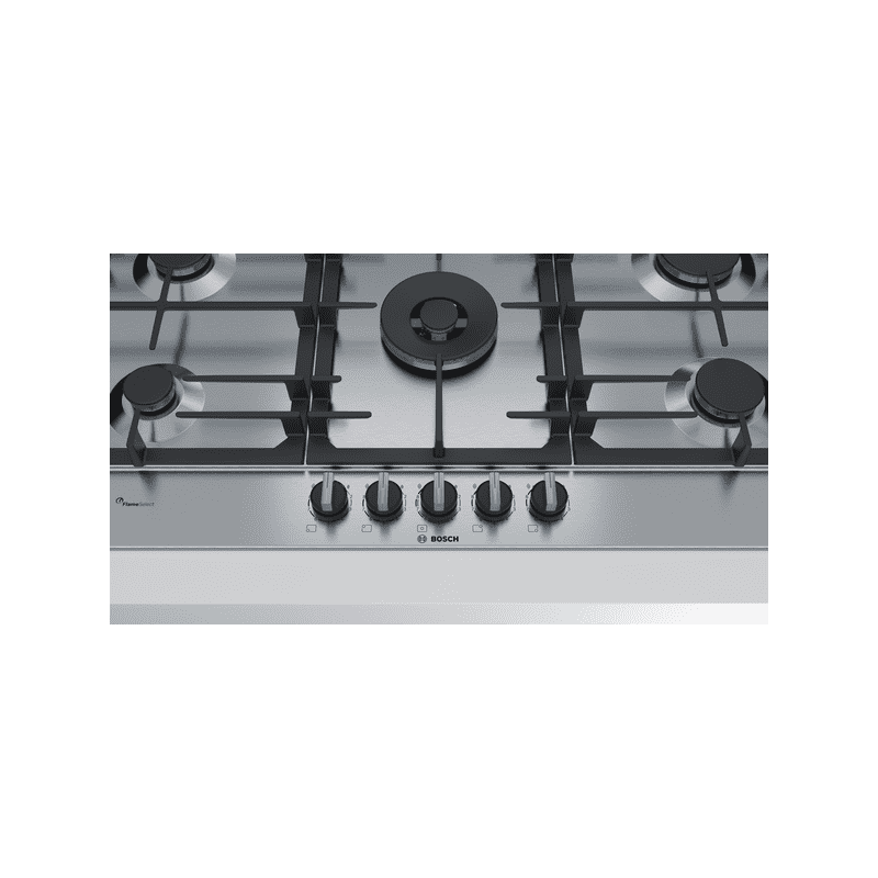 Bosch H45xW915xD520 Gas 5 Burner Hob With Flameselect - Stainless Steel additional image 2