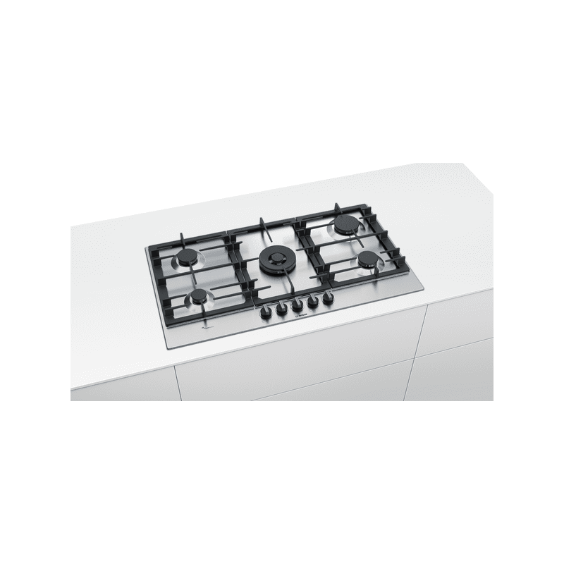 Bosch H45xW915xD520 Gas 5 Burner Hob With Flameselect - Stainless Steel additional image 4