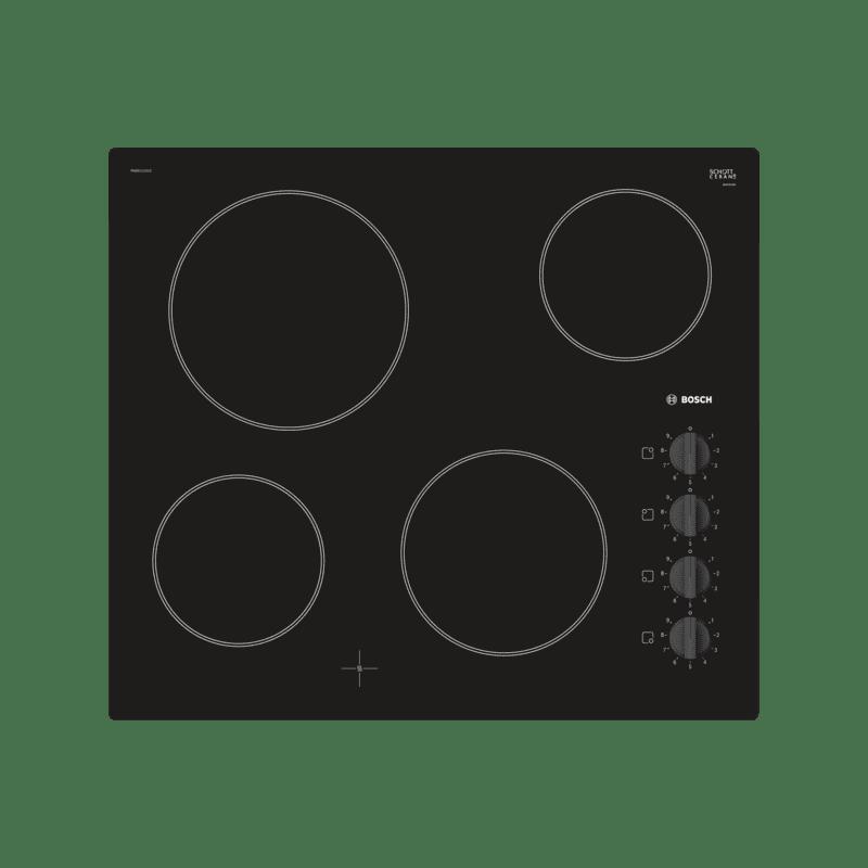 Bosch H46xW592xD522 Ceramic 4 Zone Hob - Black primary image