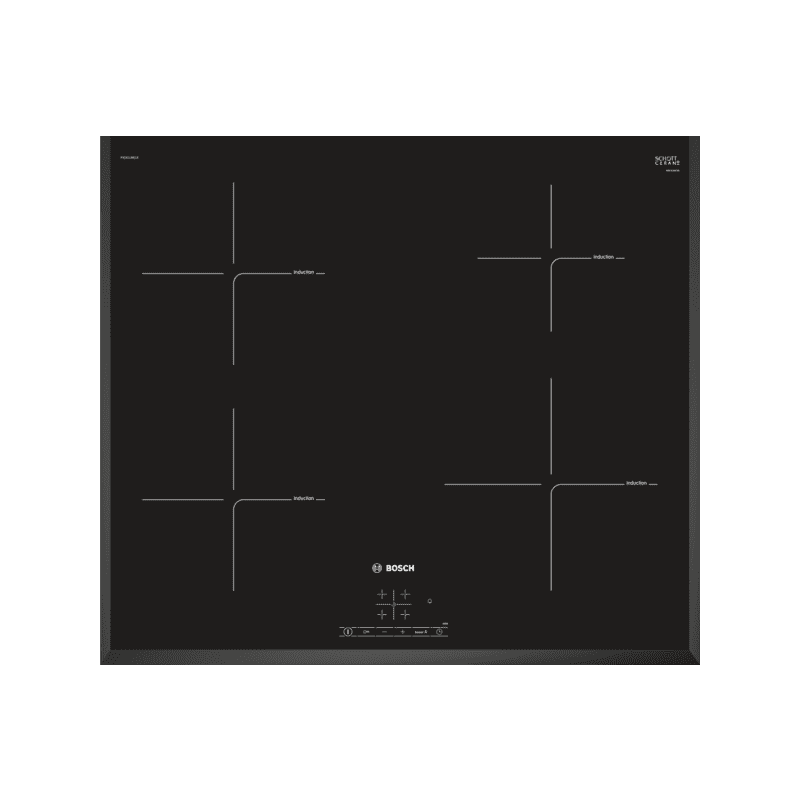 Bosch H49xW592xD522 Induction 4 Zone Hob primary image