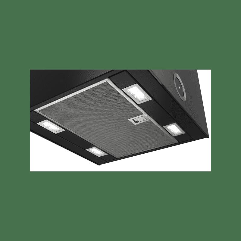 Bosch H501xW370xD377 Island Cube Hood - Black additional image 2