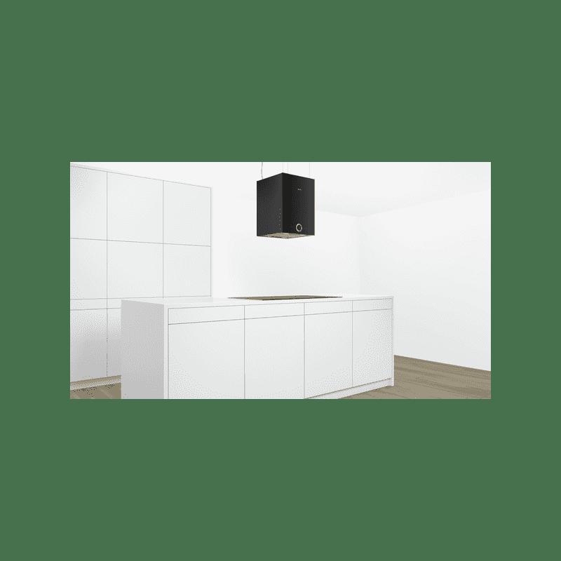 Bosch H501xW370xD377 Island Cube Hood - Black additional image 4