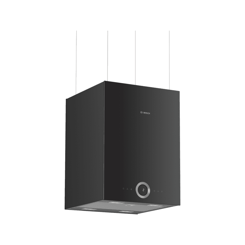 Bosch H501xW370xD377 Island Cube Hood - Black primary image