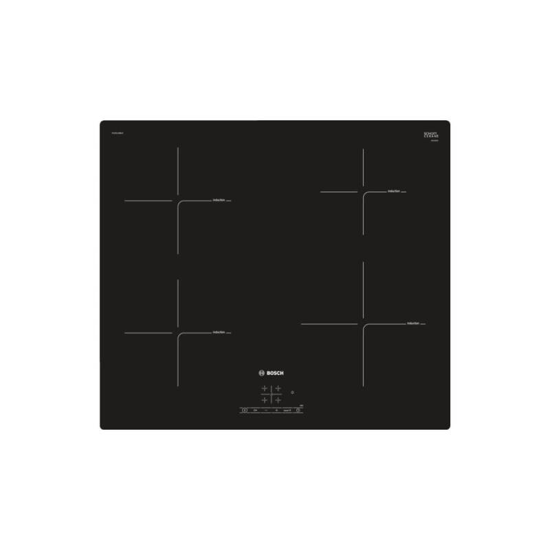 Bosch H51xW592xD522 Induction 4 Zone Hob - Black primary image