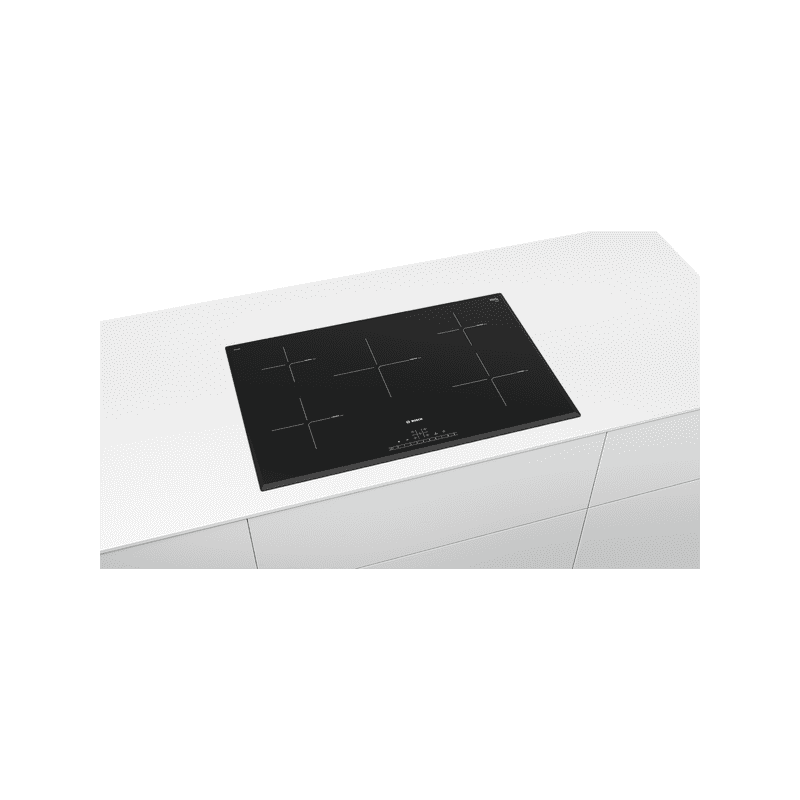 Bosch H51xW802xD522 Induction 5 Zone Hob - Black additional image 2