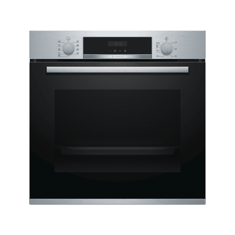 Bosch H595xW594xD548 Pyrolytic Single Oven primary image