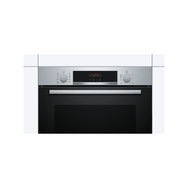 Bosch H595xW594xD548 Serie 4 Pyrolytic Single Oven additional image 1