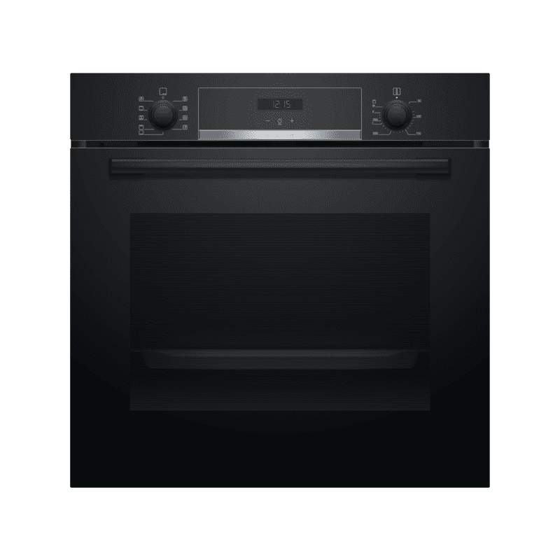 Bosch H595xW594xD548 Single Oven - Black primary image