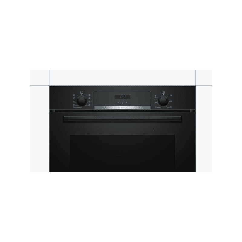 Bosch H595xW594xD548 Single Oven - Black additional image 2