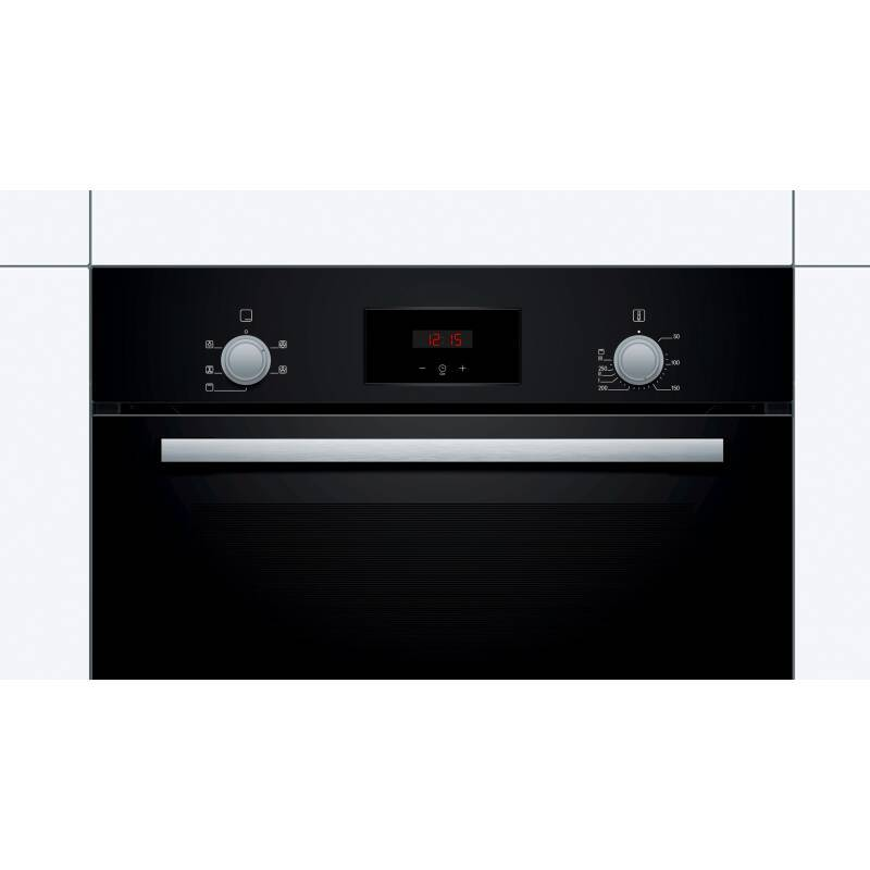 Bosch H595xW594xD548 Single Oven - Black additional image 1