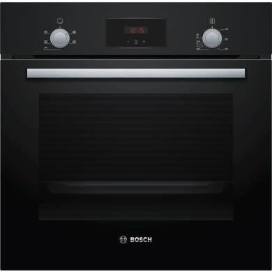 Bosch H595xW594xD548 Single Oven - Black