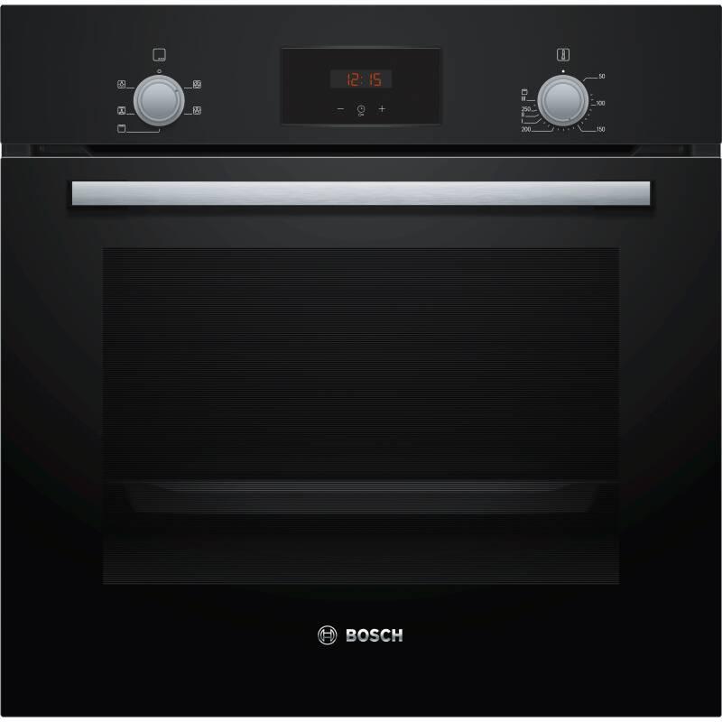 Bosch H595xW594xD548 Single Oven - Black primary image