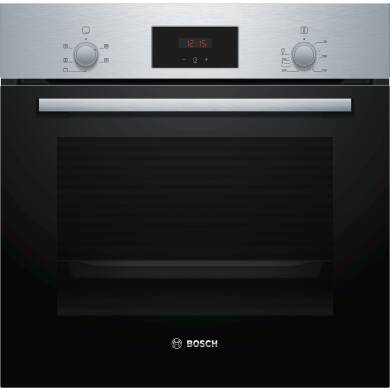 Bosch H595xW594xD548 Single Oven - Stainless Steel