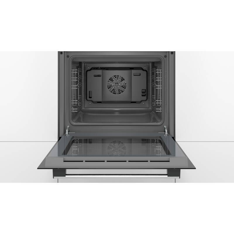 Bosch H595xW594xD548 Single Oven - Stainless Steel additional image 1