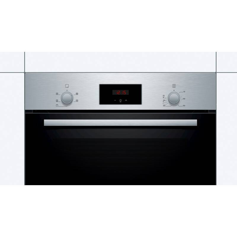 Bosch H595xW594xD548 Single Oven - Stainless Steel additional image 2