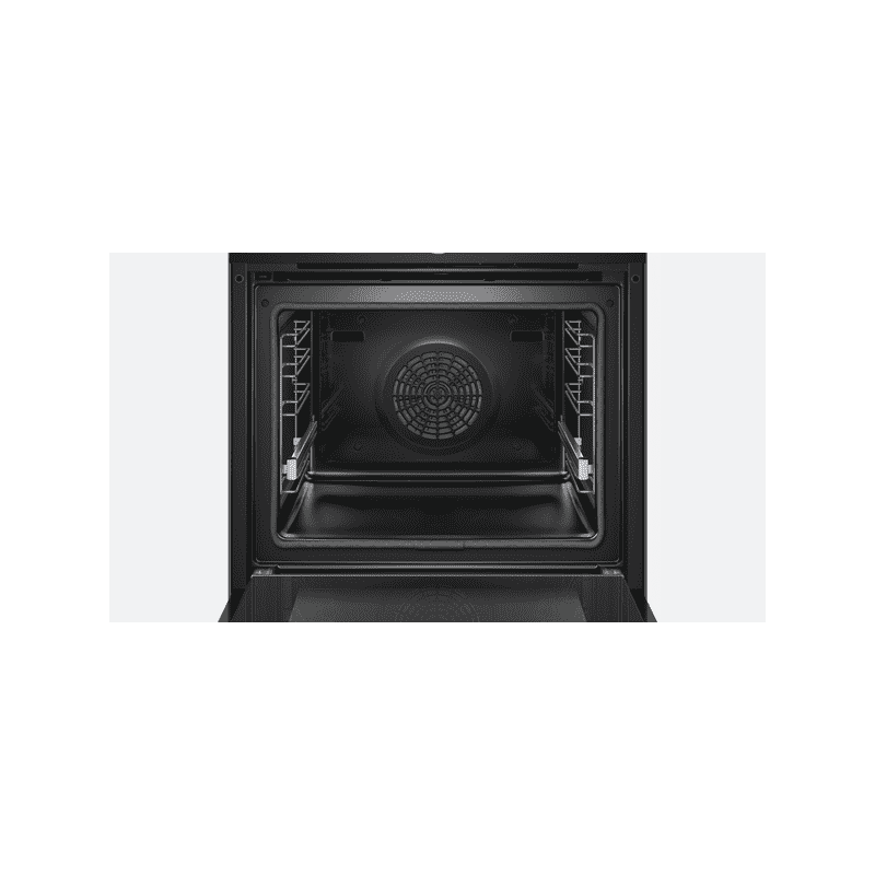 Bosch H595xW595xD548 Home Connect Single Pyrolytic Oven - Black additional image 2