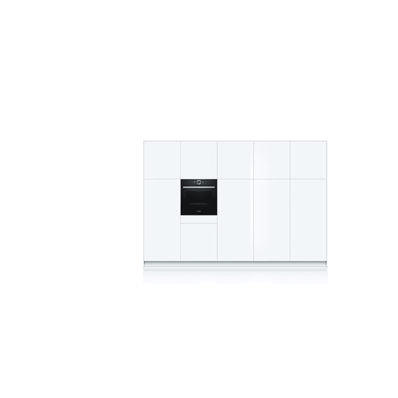 Bosch H595xW595xD548 Home Connect Single Pyrolytic Oven - Black additional image 5