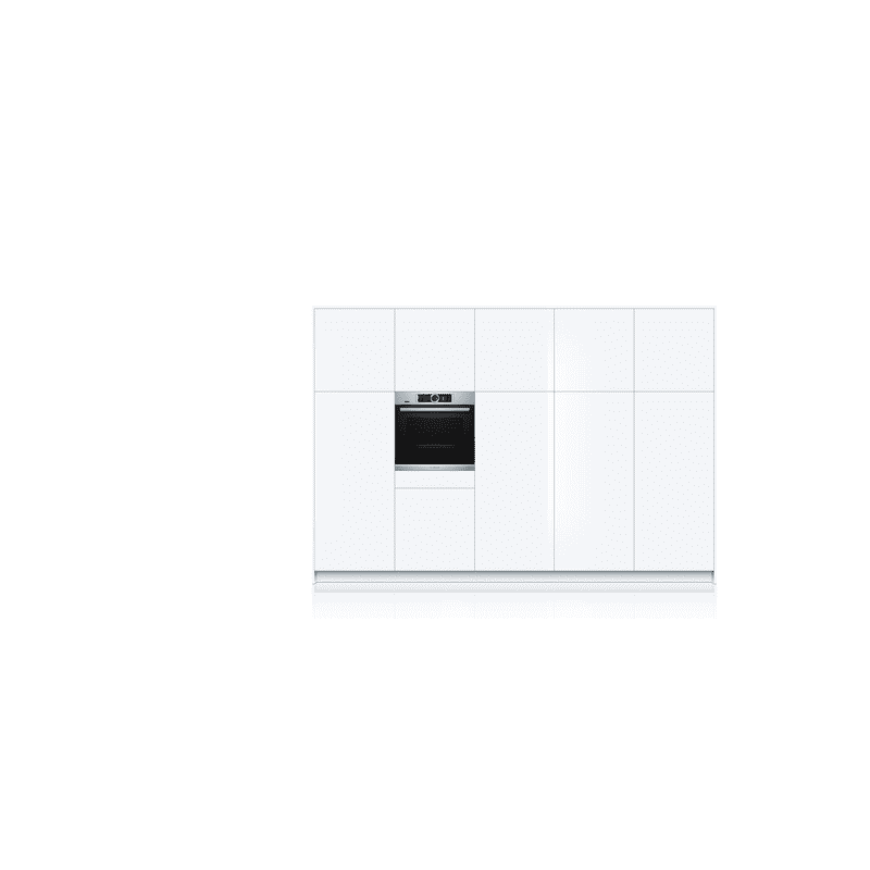 Bosch H595xW595xD548 Home Connect Single Pyrolytic Oven - Stainless Steel additional image 1
