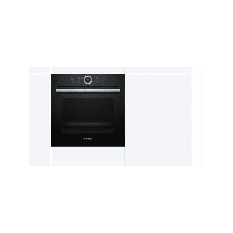 Bosch H595xW595xD548 Multifunction Oven - Black additional image 4