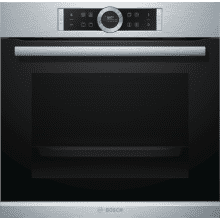 Bosch H595xW595xD548 Multifunction Oven - Brushed Steel